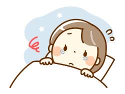 睡眠不調のイメージ