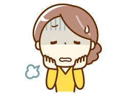 抑うつ症状のイメージ